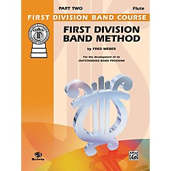 Alfred First Division Band Method Part 3 C Flute (00-FDL00166A)
