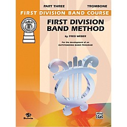 Alfred First Division Band Method Part 3 Trombone (00-FDL00179A)