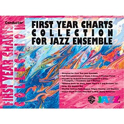 Alfred First Year Charts Collection for Jazz Ensemble 2nd B-Flat Tenor Saxophone (00-SBM01005)