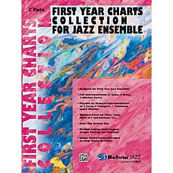 Alfred First Year Charts Collection for Jazz Ensemble C Flute (00-SBM01017)