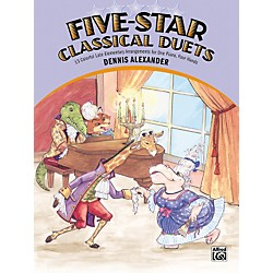 Alfred Five-Star Classical Duets Late Elementary Piano (00-21347)