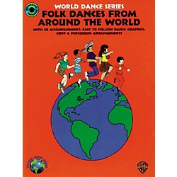 Alfred Folk Dances from Around the World Book/CD (00-BMR05114)