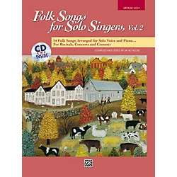 Alfred Folk Songs for Solo Singers Vol. 2 (00-16304)