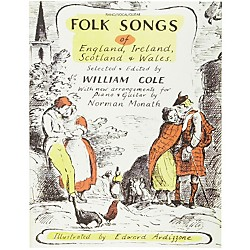 Alfred Folk Songs of England Ireland Scotland & Wales Piano, Vocal, Guitar Songbook (00-VF1880)