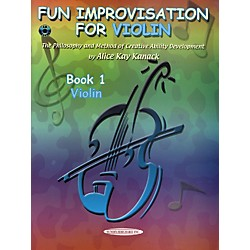 Alfred Fun Improvisation (Book/CD) (00-0773CD)