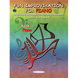 Alfred Fun Improvisation for ... Piano Book/CD (00-0776CD)