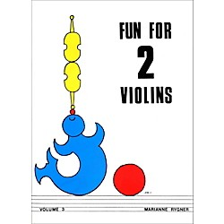 Alfred Fun for 2 Violins, Volume 3 Book (00-0432)