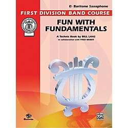 Alfred Fun with Fundamentals B-Flat Baritone Saxophone Book (00-FDL00083)