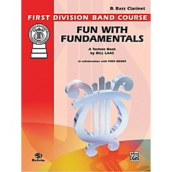 Alfred Fun with Fundamentals B-Flat Bass Clarinet Book (00-FDL00078)