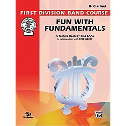 Alfred Fun with Fundamentals B-Flat Clarinet Book (00-FDL00076)