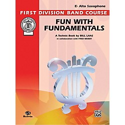 Alfred Fun with Fundamentals E-Flat Alto Saxophone Book (00-FDL00081)