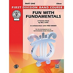 Alfred Fun with Fundamentals Oboe Book (00-FDL00079)
