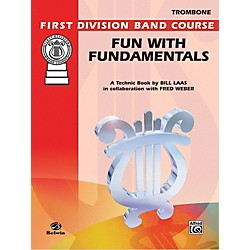 Alfred Fun with Fundamentals Trombone Book (00-FDL00087)