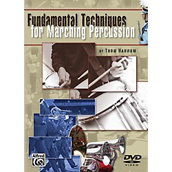 Alfred Fundamental Techniques for Marching Percussion DVD (00-27040)