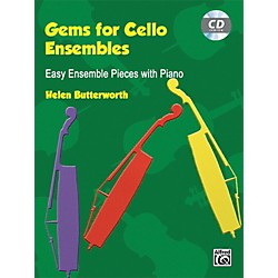 Alfred Gems for Cello Ensembles Book & CD (00-20131UK)