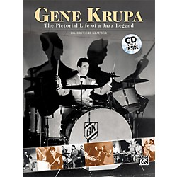 Alfred Gene Krupa - The Pictorial Life of a Jazz Legend (Book and CD) (00-0757B)