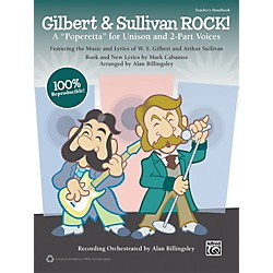 Alfred Gilbert & Sullivan ROCK! (Book/CD) (00-39989)