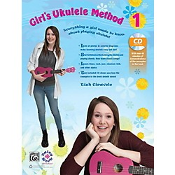 Alfred Girl's Ukulele Method 1 Book & CD (00-42554)