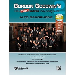 Alfred Gordon Goodwin's Big Phat Band Play-Along Series Alto Saxophone Vol. 2 Book & DVDRom (00-42575)