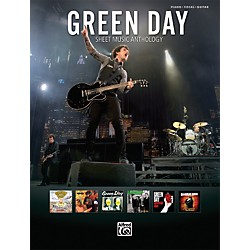 Alfred Green Day Sheet Music Anthology PVC Book (701719)