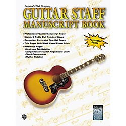 Alfred Guitar Staff Paper Book (00-EL9924)