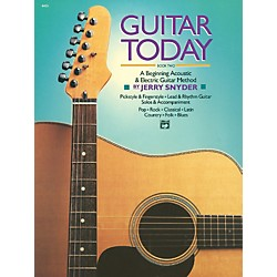 Alfred Guitar Today Book 2 Book (00-4405)