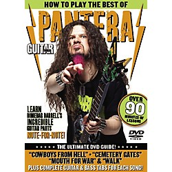 Alfred Guitar World: How To Play the Best of Pantera (DVD) (56-33915)