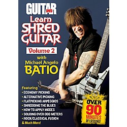 Alfred Guitar World: Learn Shred Guitar Volume 2 DVD (56-39022)