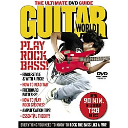 Alfred Guitar World: Play Rock Bass (DVD) (56-33916)