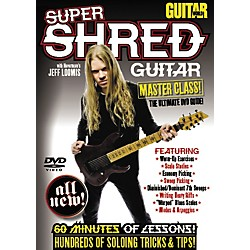 Alfred Guitar World: Super Shred Guitar Masterclass! (DVD) (56-33917)
