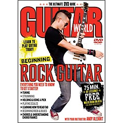 Alfred Guitar World Beginning Rock Guitar (DVD) (56-31972)