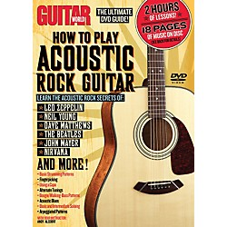 Alfred Guitar World How To Play Acoustic Rock Guitar (DVD) (56-31969)