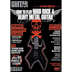 Alfred Guitar World How To Play Hard Rock & Heavy Metal Guitar (DVD) (56-31980)