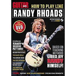 Alfred Guitar World How To Play Like Randy Rhoads DVD (56-37051)