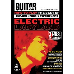 Alfred Guitar World How To Play The Best of The Jimi Hendrix Experience's Electric Ladyland DVD (56-31975)