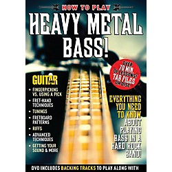 Alfred Guitar World How to Play Heavy Metal Bass DVD (56-38621)