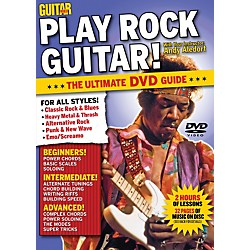 Alfred Guitar World Play Rock Guitar DVD (56-31978)