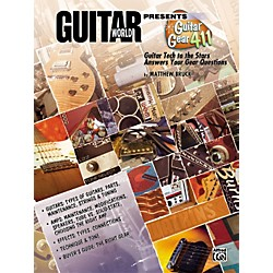Alfred Guitar World Presents Guitar Gear 411 Book (00-0763B)