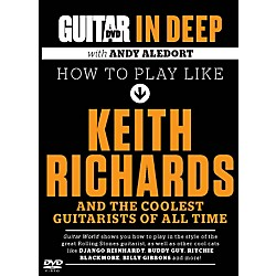 Alfred Guitar World in Deep: How to Play in the Style of Keith Richards DVD (56-39025)