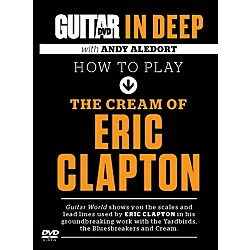 Alfred Guitar World in Deep: How to Play the Cream of Eric Clapton DVD (56-39023)