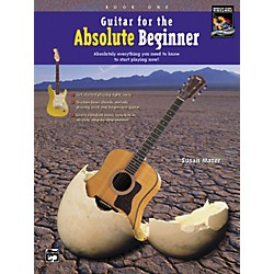 Alfred Guitar for the Absolute Beginner 1 Book/CD (00-14976)