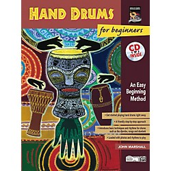 Alfred Hand Drums For Beginners (Book/CD) (00-19328)