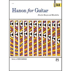 Alfred Hanon for Guitar In TAB (00-4469)
