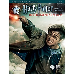 Alfred Harry Potter Instrumental Solos for Strings - Viola (Book/CD) (00-39238)
