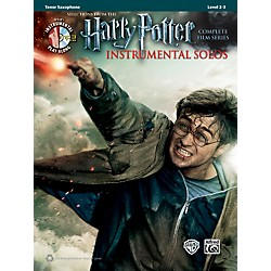 Alfred Harry Potter Instrumental Solos for Tenor Sax - Book/CD (00-39220)