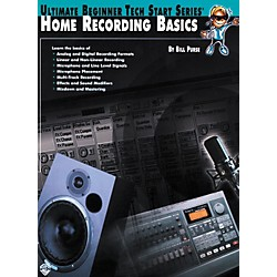 Alfred Home Recording Basics Book (00-0176B)