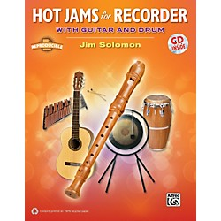 Alfred Hot Jams for Recorder (Book/CD) (00-37776)