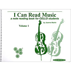Alfred I Can Read Music for Cello, Volume 1 Book (00-0441)