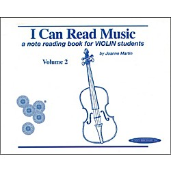 Alfred I Can Read Music for Violin, Volume 2 Book (00-0427)