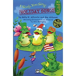 Alfred I Sing, You Sing: Holiday Songs Book/CD (00-21215)